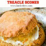 treacle scones pin image