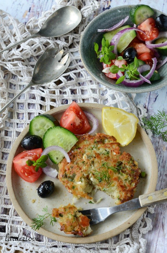 Greek potato rostis