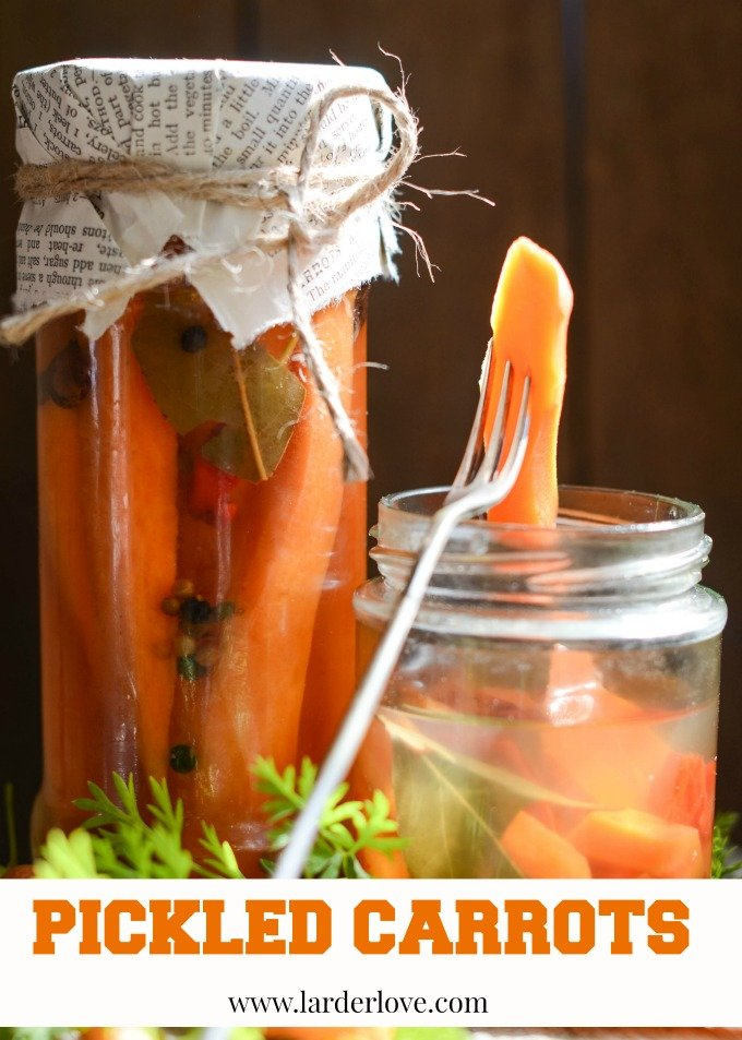pickled carrots by larderlove