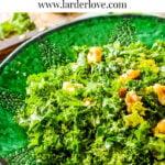kale and walnut salad
