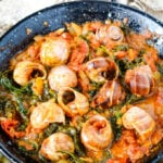 Greek snails in tomato sauce