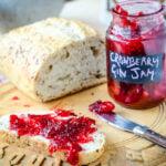 cranberry gin jam