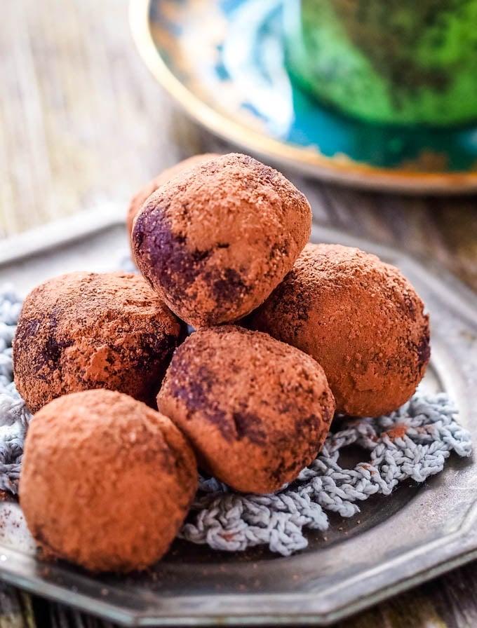 pile of truffles