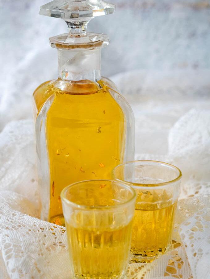 golden vanilla vodka