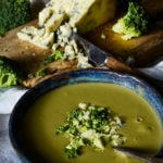 broccoli and stilton soup by larderlove