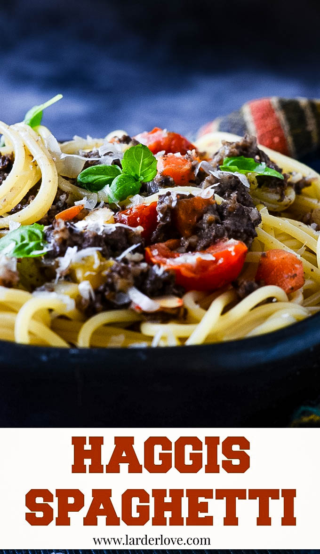 haggis spaghetti by larderlove