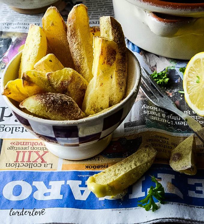 moules frites by larderlove
