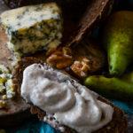 stilton pear and walnut dip by larderlove
