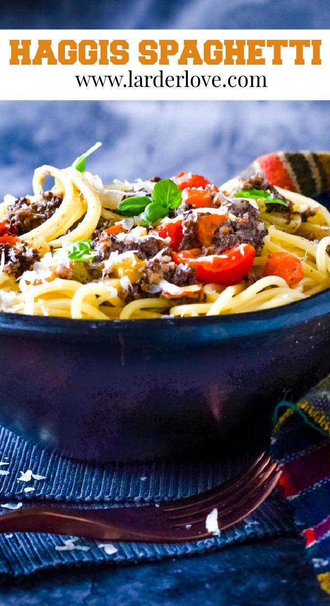 haggis spaghetti pin image