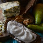 stilton pear and walnut dip