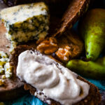 stilton pear and walnut dip and spread