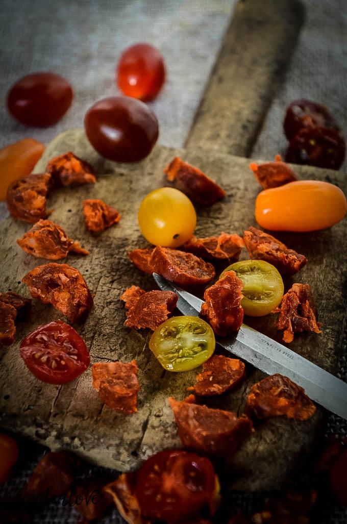 chorizo and tomato risotto by larderlove