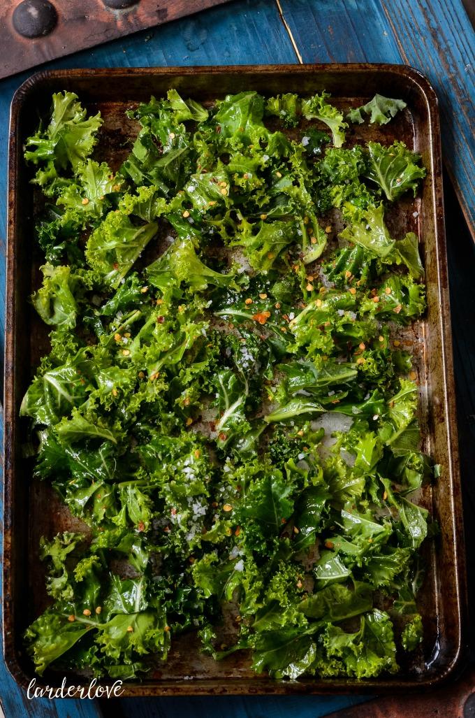 kale crisps by larderlove