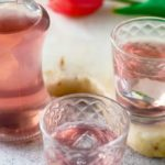 rhubarb and ginger gin by larderlove