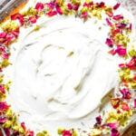 matcha and rose layer cake pin image