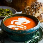 tomato and mascarpone soup by larderlove.com