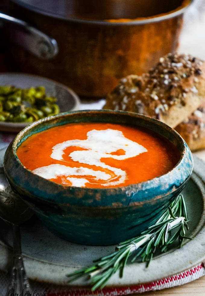 tomato and mascarpone soup by larderlove.com