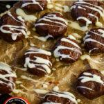 guinness chocolate truffles pin image