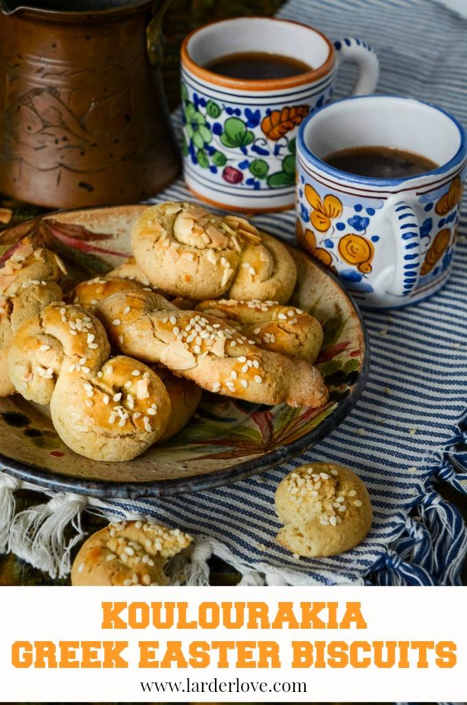 koulourakia greek easter biscuits by larderlove
