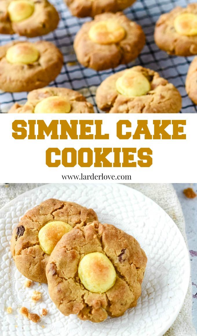 simnel cake cookies by larderlove