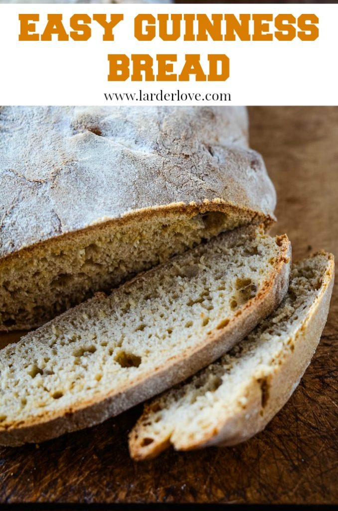 easy guinness bread pin image