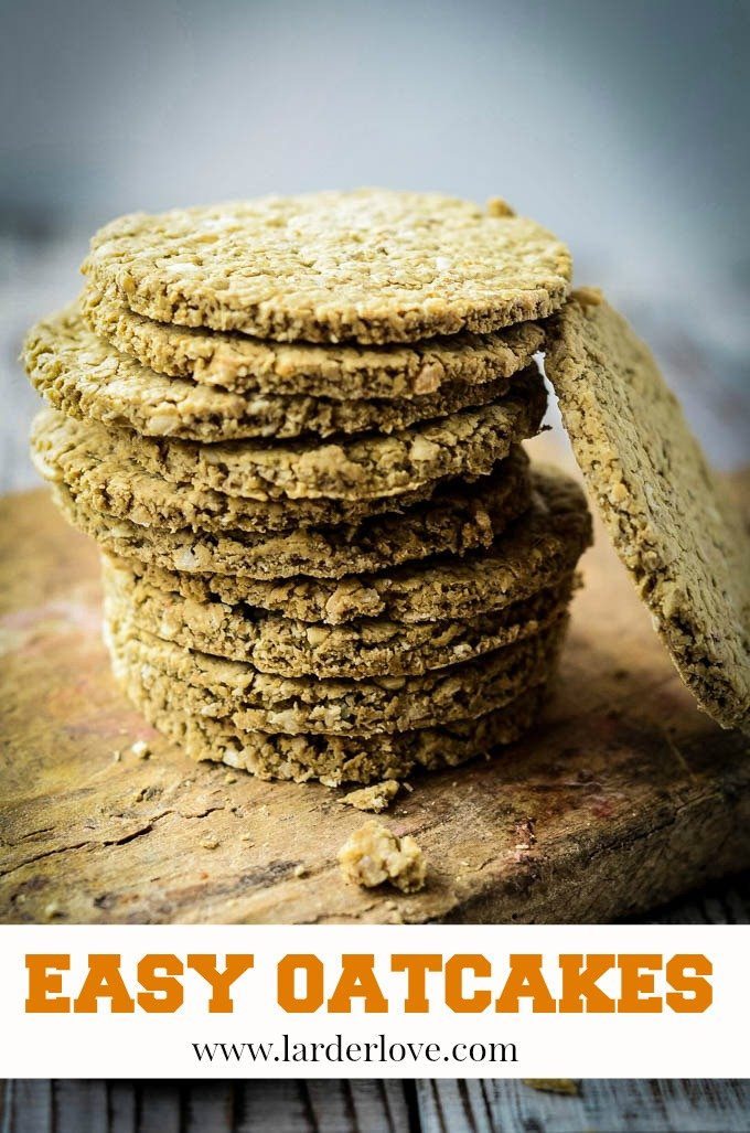 easy Scottish oatcakes
