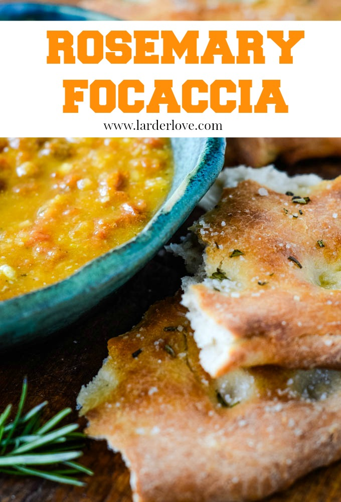 rosemary focaccia by larderlove
