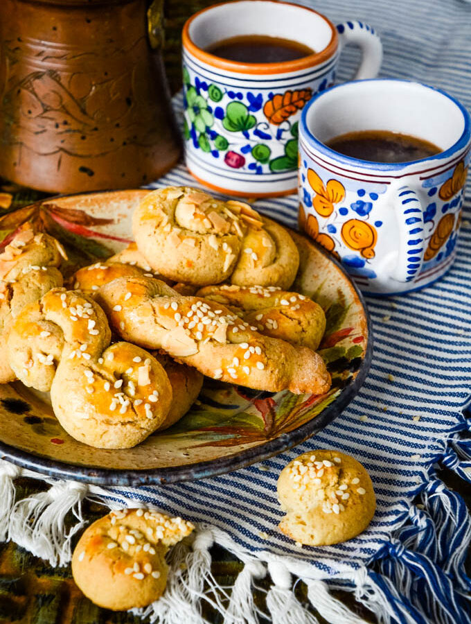 koulourakia Greek Easter biscuits