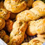 koulourakia Greek Easter biscuits