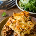 super easy lazy lasagne by larderlove