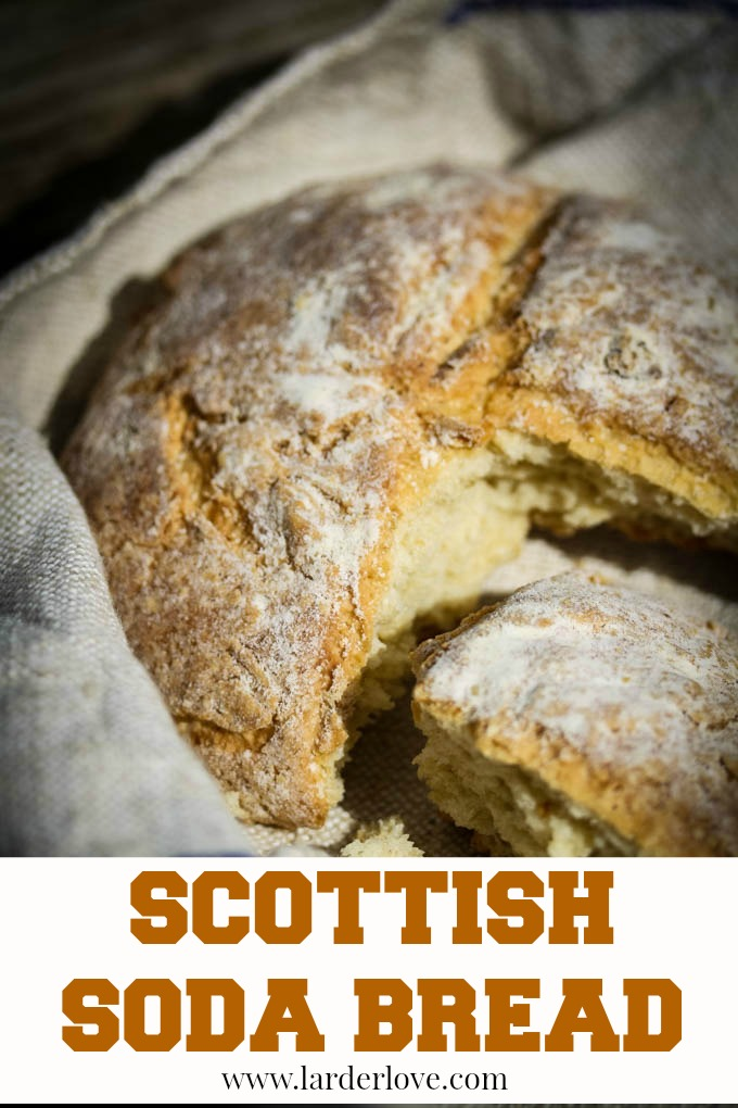 Scottish soda bread by larderlove