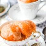 earl grey tea sorbet pin image