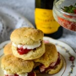 3 ingredient prosecco scones