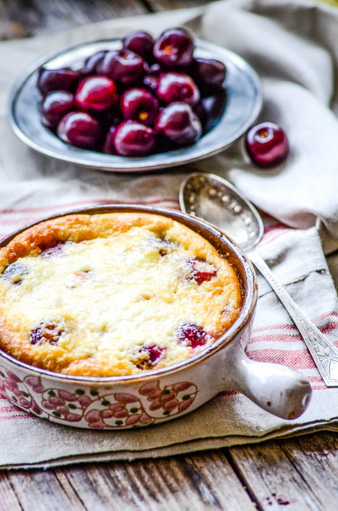 easy traditional french cherry clafoutis