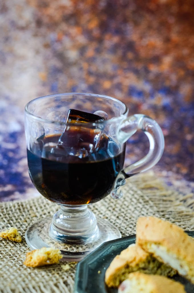 homemade Kahlua coffee liqueur by larderlove.com