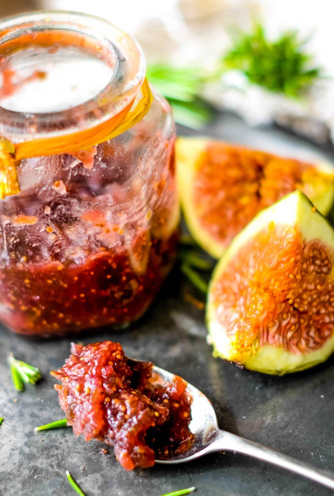 fig jam with rosemary