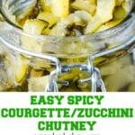 zucchini chutney