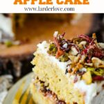 brown butter apple cake