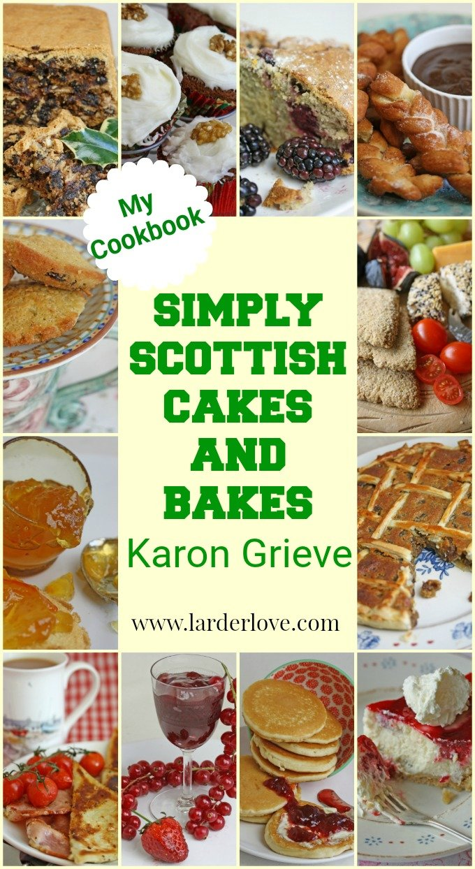 Simply Scottish Cakes And Bakes pin image