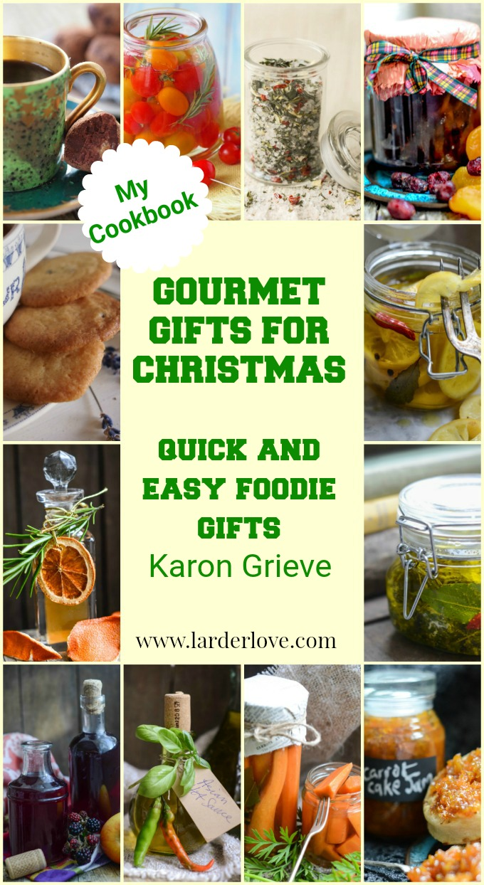 Gourmet gifts for Christmas ebook pin image