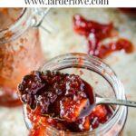 plum and apple jam