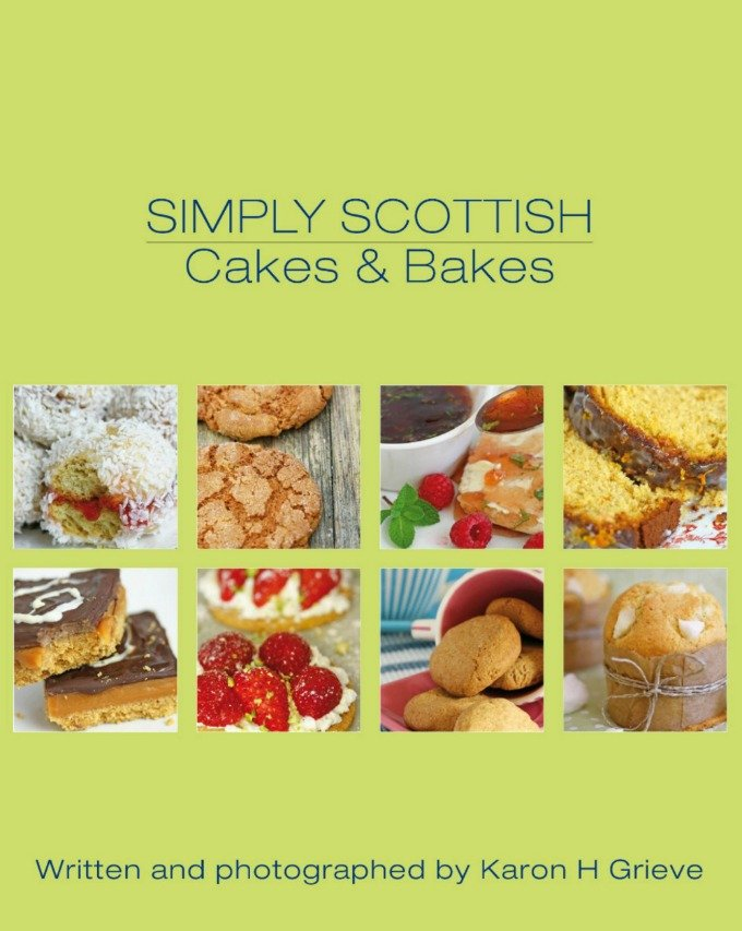 simply Scottish cakes and bakes book cover