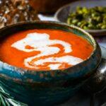 tomato and mascarpone soup