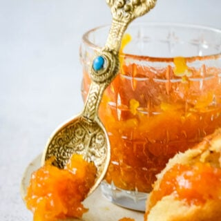 3 ingredient dried apricot jam