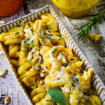 pumpkin pesto pasta bake