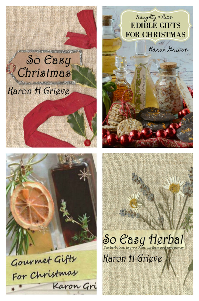 homemade lilqueurs and edible gifts - my book covers