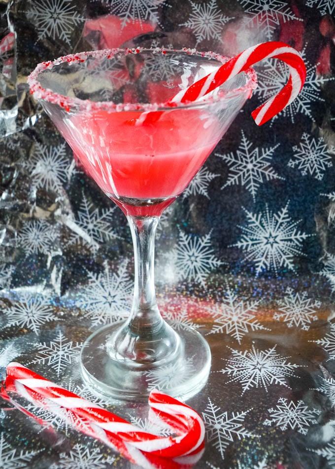 candy cane gin