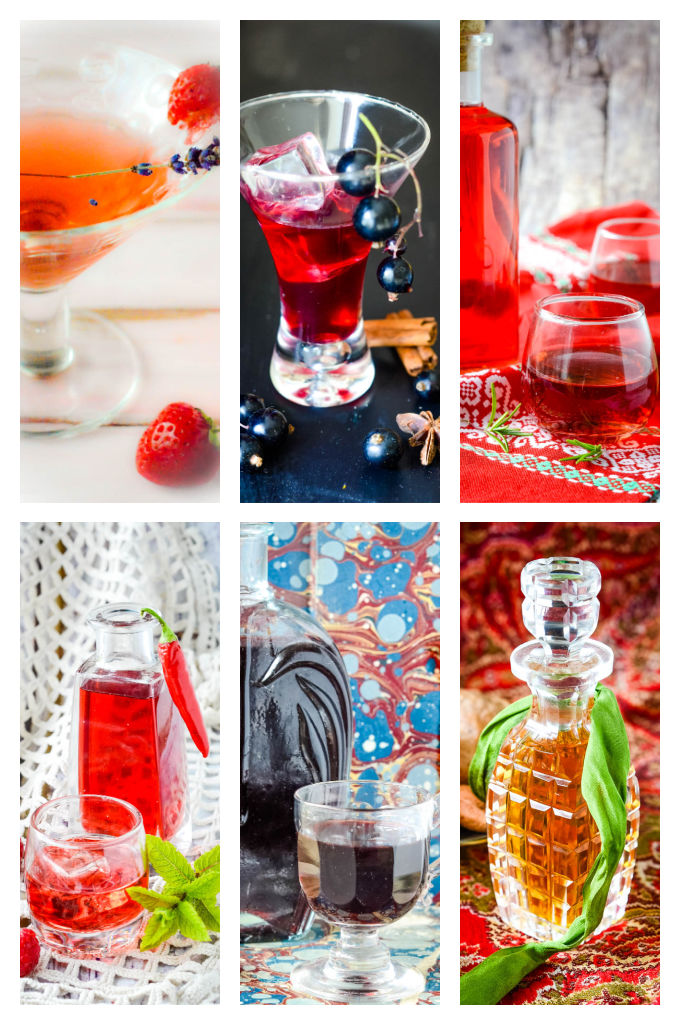 homemade liqueurs images