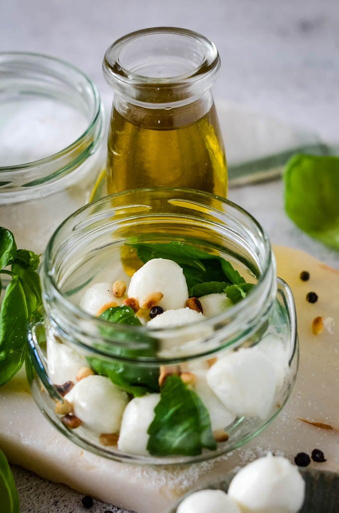 ingredients in jar