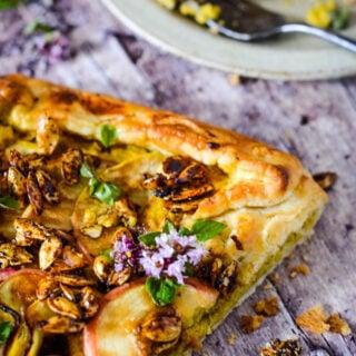 pumpkin and apple pie/galette